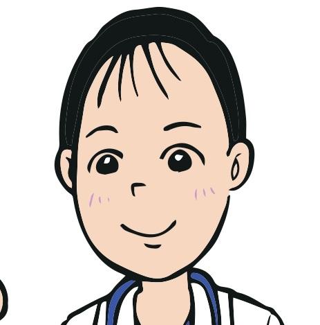 辻村先生の似顔絵