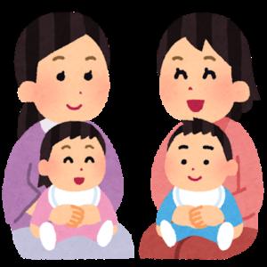 子育て中のママたち