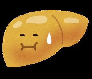 脂肪肝のイラスト