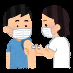予防接種の絵