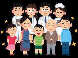 家族が安心の病院